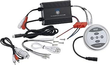 Waterproof Bluetooth Marine Amplifier Receiver - Weatherproof 2 Channel Wireless Amp for Stereo Speaker with 600 Watt Powe...