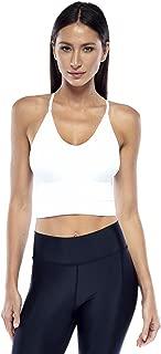 Electric Yoga Soft Seamless Bra - V-Neck Wirefree Sports Bra for Women