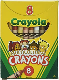 Crayola Multicultural Crayons -24 Count (Set of 3 - 8 Packs)