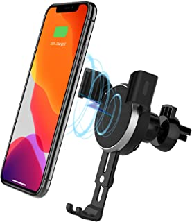 Wireless Car Charger, Lecone 10W Qi Fast Charging Car Mount with Air Vent Phone Holder for iPhone 11, 11 Pro, 11 Pro Max, XS Max, XS, XR, X, 10W for Galaxy S10 S9 S8, Note 10 Note 9