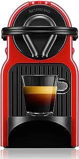 Nespresso Inissia Coffee Machine, Ruby Red