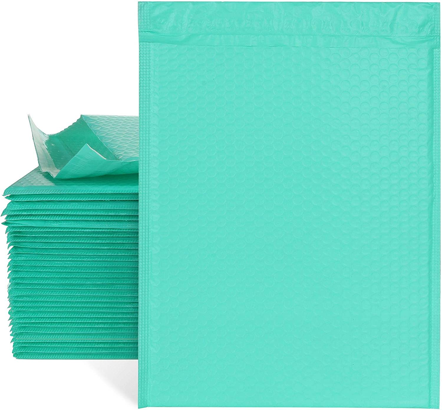 30pcs 10.5x16 Inch Poly Bubble Teal Boston Mall #5 Ranking TOP18 Padded Mailers Envelopes