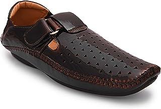 Andrew Scott Men's Tan Leather Formal Shoes- 7 UK/India (41 EU) (606Tan_7)