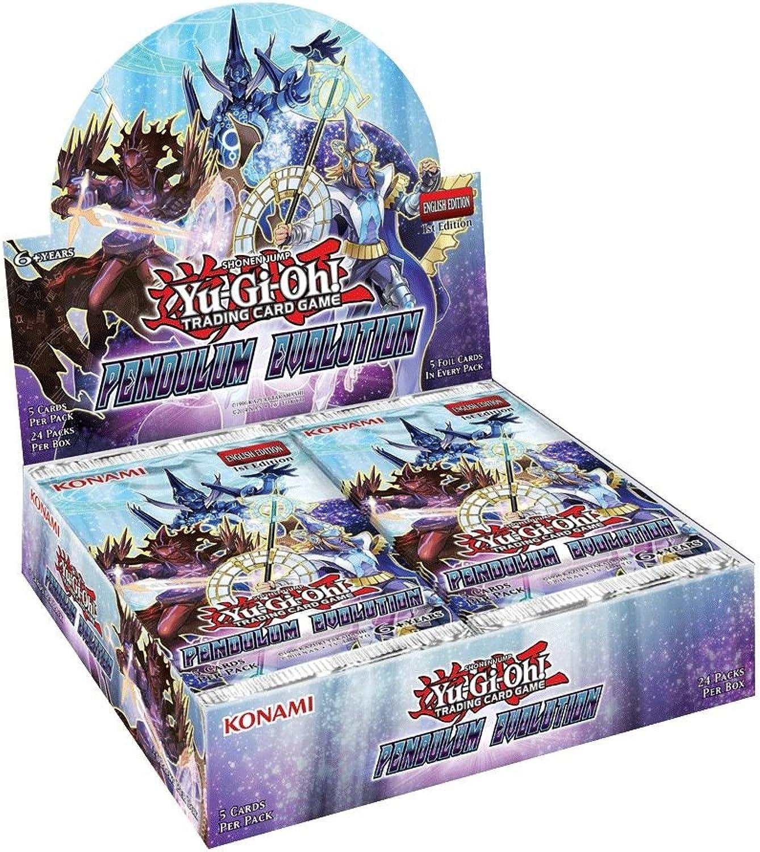tienda de ventas outlet Yu Yu Yu Gi Oh. jccygo296 Caja de 24Boosters Evolution péndulo  de moda