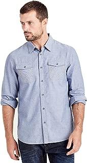 Men's Long Sleeve Utility Chambray Shirt