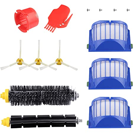 Compatible for IRobot Roomba 700 Series Replacement kit Rollers,Brushes,Filters