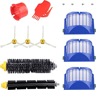 ARyee Filter Brush Vacuum Cleaner Kit Compatible with iRobot Roomba 600 620 630 650 660 Series