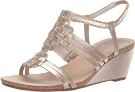 97a78ecb6a1f Tory Burch Miller 60mm Wedge Sandal at Zappos.com