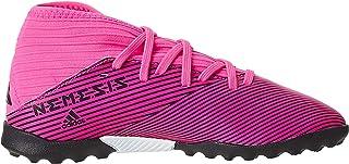 adidas Nemeziz 19.3, Boys Turf Boots, Pink (Shock Pink/Core Black), 1 UK (33 EU)