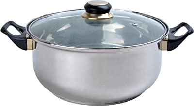 Aramco Alpine Gourmet Dutch Oven, 2 quart, Stainless Steel (BK-201-4)