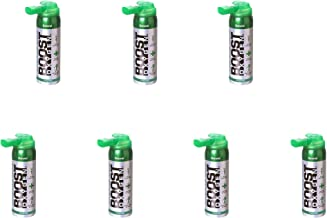 product image for Boost Oxygen Canned 2-Liter Natural Inhaler O2 Oxygen Canister Bottle for High Altitudes, Athletes, and More, Flavorless (7 Pack)