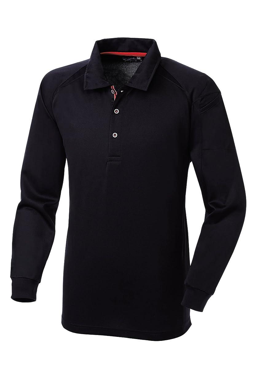 あらゆる種類のワゴン特殊SOWA(ソーワ) 長袖ポロシャツ ブラック Mサイズ 50550