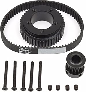 Wooya 17Pcs Drive Kit Parts Pulley and Motor Mount for 80Mm Wheels Electric Skate Board