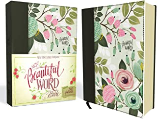 NKJV, Beautiful Word Bible, Cloth over Board, Multi-color Floral, Red Letter Edition: 500 Full-Color Illustrated Verses