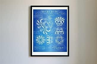 Iron Man Arc Reactor Patent Art #114 - Da Vinci Patent Prints, Poster, Artwork (8x10, Blueprint)