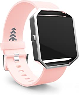 Teak - Fitbit Blaze Band - Silicone and Magnetic Loop Replacement Wristbands