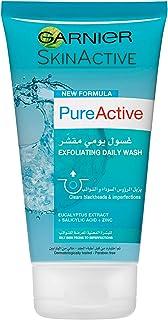 Garnier Pure Active Exfoliating Daily Wash 150 ml
