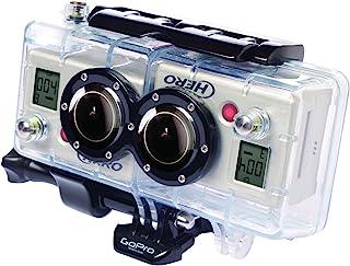 GoPro 3D Hero System - Accesorio para cámaras HERO2 (Carcasa 3D Resistente al Agua Permite Grabar vídeo y Foto en 3D y 2D simultáneamente) Color Transparente