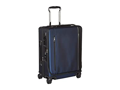 Tumi Arrive Continental Dual Access 4 Wheeled Carry-On (Navy) Carry on Luggage