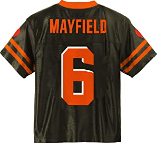 Outerstuff Baker Mayfield Cleveland Browns #6 Brown Youth Player Home Jersey