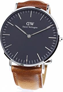 ダニエルウェリントン 腕時計 36MM 00100144DW Classic Black DURHAM SILVER [並行輸入品]