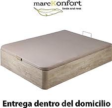 marckonfort Canapé abatible 135X190 de Gran Capacidad con