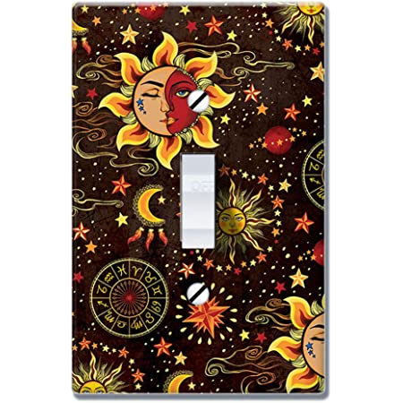 Art Plates Moon And Sun Switch Plate Single Toggle Amazon Com