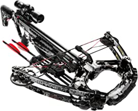 BARNETT TS390 Crossbow | 390 Feet Per Second Compound Crossbow | 4x32 Scope | Equipped with Rope Cocker, Two 20 Inch Arrows, and Side Mount Quiver