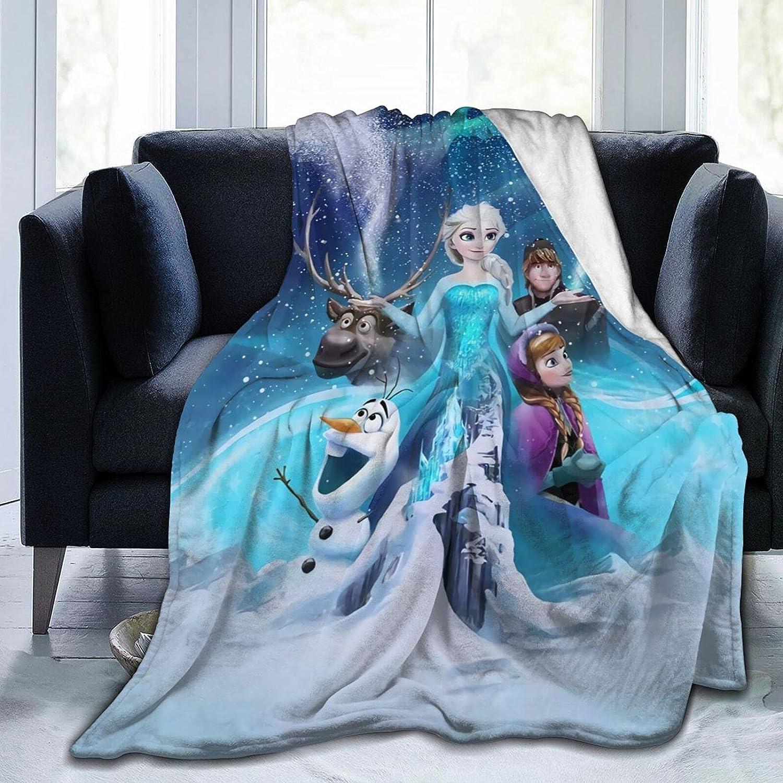Frozen Fluffy Throw Fleece Flannel Blanket Olaf P Anna Sven Genuine Free Shipping Elsa Miami Mall