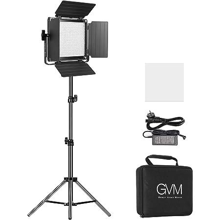 Gvm Led Videolicht Mit Stativ App Steuerung Led Licht Kamera
