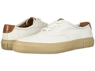 Frye Ludlow Bal Oxford (White Sheep Leather) Men