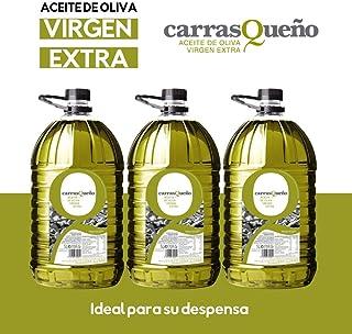 Caja 3 Garrafas 5 litros Carrasqueño Aceite de Oliva Virgen