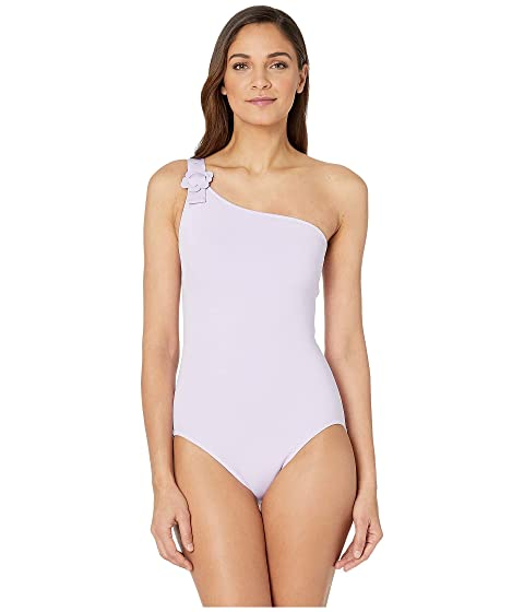 Kate Spade New York Daisy Buckle One Shoulder One-Piece