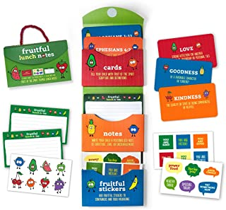 Fruitful Lunch Notes for kids – back to school fun with inspirational lunch box notes includes fruit of the spirit themed ...