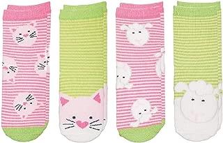 FlapJackKids Mix and Match Safari Socks - 4 Pairs