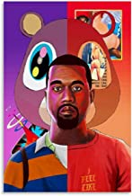 P503 Art Decor 808/'s and Heartbreak Kanye West Album Cover Rap Music Silk Poster