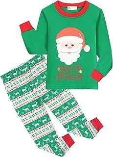 Sponsored Ad - EULLA Little Boys Pajamas Sets Cotton Little Toddler PJS Set Kid Clothes Children Sleepwear