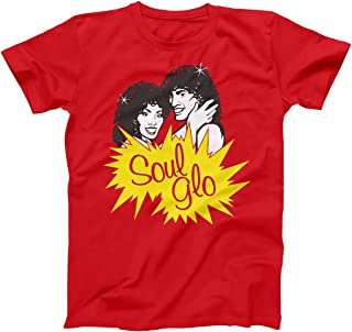 Soul Glo Funny Retro Movie Randy Watson Sexual Chocolate Band Coming America Mens Shirt