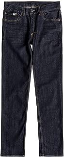 DC Apparel - Kids Big Boys' Worker Slim Stretch Denim Jean Pants Youth
