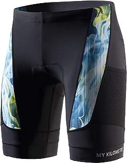 My Kilometre 3D Gel Padding Mens Cycling Shorts,Mens Bike Bicycle Shorts