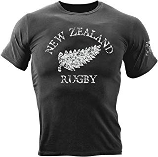 New Zealand Rugby Garment Dyed T-Shirt