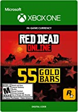 Red Dead Redemption 2: 55 Gold Bars 55 Gold Bars - [Xbox One Digital Code]