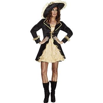 Smiffys - Disfraz de Pirata Barroco para Mujer, Talla M (353895 ...