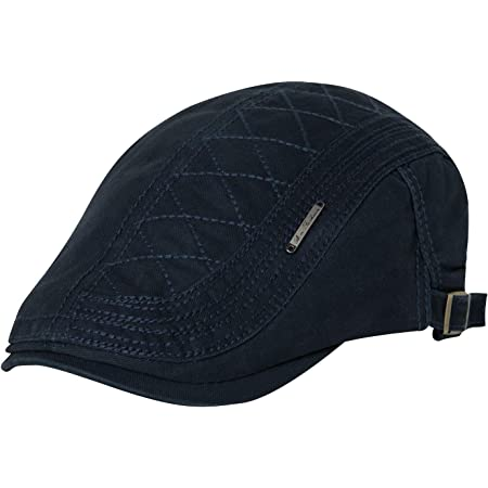 Comhats Mens Flat Cap Duckbill Vintage Gatsby Ivy Irish Cotton Driving Hat Adjustable