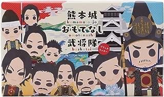 あそりんどう 熊本城 おもてなし武将隊 プリントクッキー 12枚入