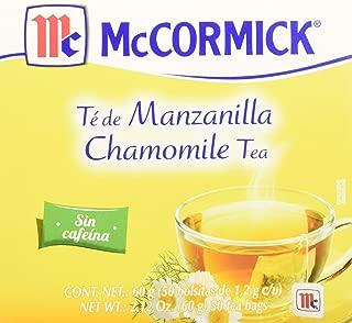 McCormick, Té, 50 piezas