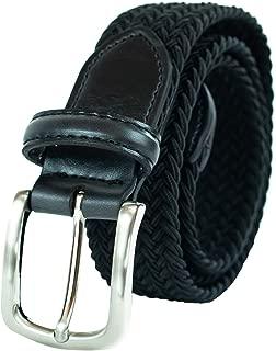 Big Boys' Braided Elastic-Web Stretch Belt