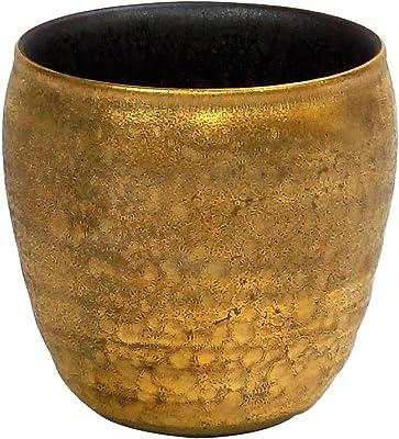 エムズセレクト ロックカップ 晶外金塗り 直径8.7cm