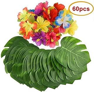Mandy's 60PCS Luau Party Supplies 8