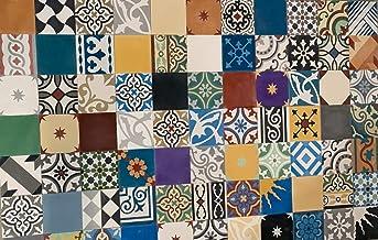 Zagora Carreaux de c/éramique Grenade 706/ pour carrelage image murale carrelage mosa/ïque carreaux marocain Lot de 3